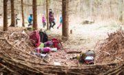 Lesní školka tráví spoustu času v lese